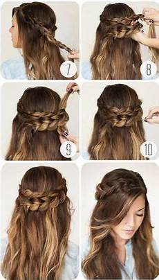 9 step by step hairstyles perfect for school hair styles