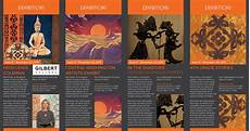 Art Gallery Brochure Design Professional Bold Art Gallery Brochure Design For A