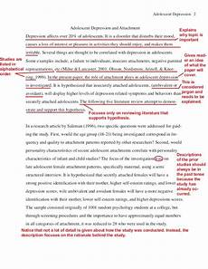 Apa Style Literature Review Apa Literature Review Example By Purdue Online Writing Lab