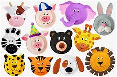 paper plate animals crafts craft ideas
