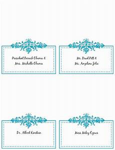 Free Place Card Templates 6 Per Page 10 11 Word Templates For Place Cards Lascazuelasphilly Com
