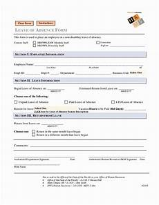 Employee Absence Template Employee Absence Form Template In 2020 Letter Template