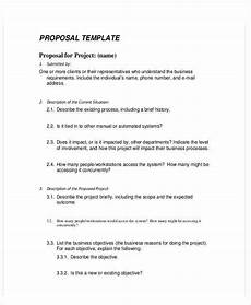 Business Proposals Templates 19 Business Proposal Templates In Word Free Amp Premium