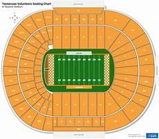 Tennessee Volunteers Stadium Seating Chart Neyland Stadium Section T Rateyourseats Com