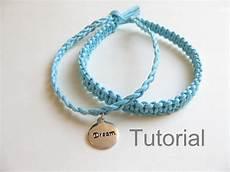 knotted bracelet beginners macrame pattern tutorial pdf two in