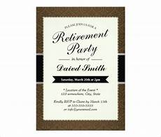Retirement Party Invitation Template Word Free Retirement Party Invitation Templates For Word