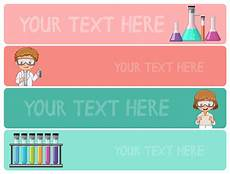 Science Fair Banner Template Banner Templates With Kids In Science Lab Download Free