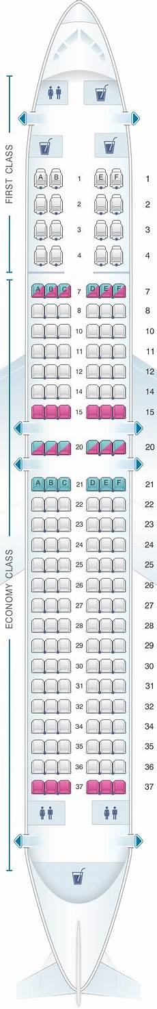 United Airlines Boeing 737 Seating Chart Seat Map United Airlines Boeing B737 800 Version 2