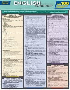 Quick Study Charts Pdf Barcharts English Grammar Quizzer Quick Study Guide