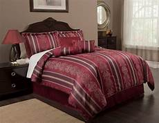 burgundy comforter bedding sets