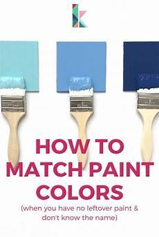 How To Match Paint Colors How To Match Paint Colors Kaleidoscope Living