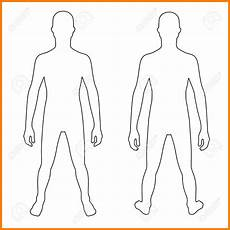 Outline Of Human Body Front And Back 7 Human Body Outline Front And Back Ledger Review