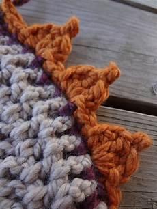 fiber flux free crochet pattern pumpkin patch edging