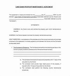 Maintenance Contract Sample 15 Maintenance Contract Templates Word Pdf Apple