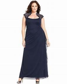 Xscape Plus Size Dresses Size Chart Xscape Plus Size Cap Sleeve Lace Gown Plus Dresses Plus