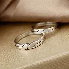 Interlocking Ring Interlocking Infinity Promise Rings For Couples Polished