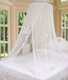 white bed canopy mosquito netting with hook new