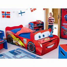 disney cars toddler feature bed lightning mcqueen new ebay