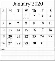 2020 calendar templates with holidays free printable january and february 2020 calendar