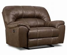 stratolounger stallion brown snuggle up recliner