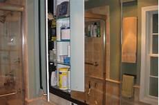 built in medicine cabinet contemporary bathroom chicago