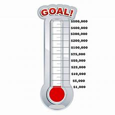 Fundraising Goal Thermometers Olympic Indoor Archery Range In Kansas City Mo Christ