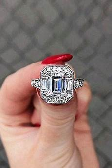 39 vintage engagement rings with stunning details page 2