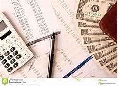 Calculating Expenses Calculating Expenses Stock Image Image Of Checking