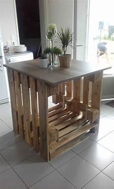Where To Buy Affordable Kitchen Islands Maison De Pax 238 Lot Central Cuisine Pallet Kitchen Island Pallet