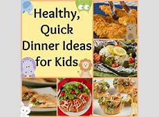 Healthy, Quick Dinner Ideas for Kids   Mr. Food's Blog