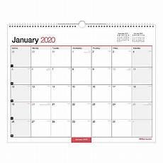 Calendar 2020 Office Office Depot Monthly Wall Calendar 15x12 2020 Office Depot
