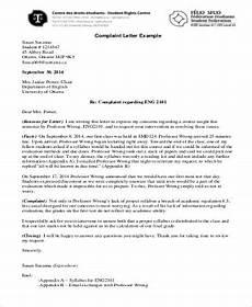 Formal Complaint Letters Free 13 Sample Formal Complaint Letter Templates In Pdf