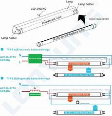 How To Rewire A Fluorescent Light New Sale Electronic Ballast Magnetic Compatible 4ft