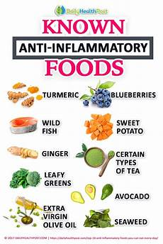 top 10 foods to add to your anti inflammatory diet