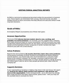 Sample Buisness Report 13 Formal Report Examples In Pdf Google Docs Pages