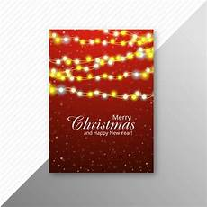 Christmas Lights Flyer Template Marry Christmas Colorful Lights Flyer Template Design