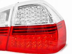 E90 Euro Lights Depo 06 08 Pre Lci Bmw E90 4d Sedan Euro Red Clear Lens