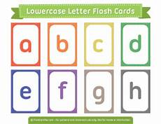 Lowercase Letters Flash Cards Printable Flash Cards Page 4