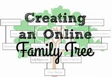 Family Tree Format Online Creating An Online Family Tree Nest Full Of New