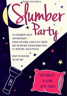 Girl Slumber Party Invitations Awesome How To Create Sleepover Party Invitations