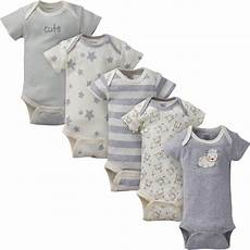 5 pack neutral sheep organic sleeve onesies bodysuit