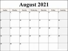 Monthly Word Calendar Microsoft Word Calendar Template 2021 Monthly Free