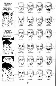 Facial Techniques Chart Facial Expressions Scott Mccloud Explains Paul Ekman
