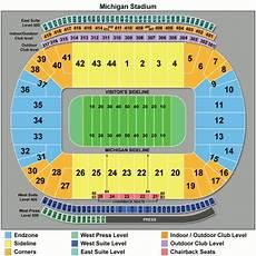 University Of Michigan Big House Seating Chart Michigan Wolverines Football Tickets 2018 Um Games