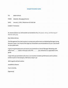 Letter Of Recommendation For Promotion 12 Promotion Recommendation Letter Examples Pdf Examples