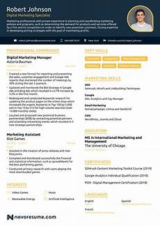 Modern Sales Resume Examples 2020 30 Creative Resume Examples For Every Field In 2020