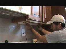 Under Cabinet Fluorescent Lighting Not Working How To Remove An Under Counter Light Tube Youtube