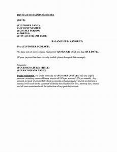 Balance Due Letter Template Past Due Invoice Collection Letter Apcc2017