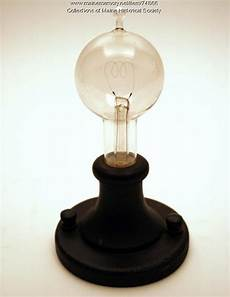 Electric Light Bulb 1879 Maine Memory Network Reproduction 1879 Light Bulb Ca 1929