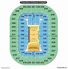 Greensboro Coliseum Seating Chart For Wwe Greensboro Coliseum Seating Chart Seating Charts Amp Tickets